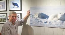Naturfilmaren Ingemar Lind har tagit Härjedalsfjällen till sitt hjärta. Favoriten är fjällräven.
