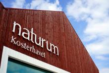 I naturum Kosterhavet vid Ekenäs brygga finns massor av intressant information.