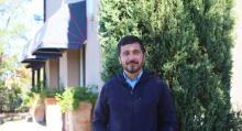 Alessandro Bonanni öppnade agriturismot Quercia Rossa för att kunna lämna Rom och bosätta sig på den toscanska landsbygden.
