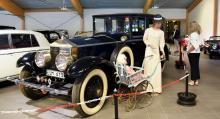 Bland de 200 bilarna på museet finns både folkhemsbilar och lyxåk. En av lyxbilarna är en Rolls- Royce Springfield från 1927.