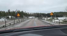 Kurvan är dåligt utformad, medger Trafikverket.