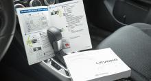 Snabbguiden till Subaru Levorg är mycket bättre och tydligare än själva instruktionsboken.
