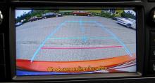 Även små bilar kan numera vara utrustade med backkamera.