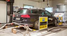 Våra utsläppsmätningar följer samma regelverk som biltillverkningarna har vid sina certifieringstester.