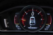 Digitala instrument är inte så vanligt på Volvo.