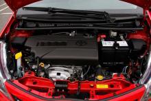 Motorerna på Yaris har kamkedja, som sällan vållar några problem.