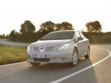 Toyota Avensis står för det mest tidskrävande filterbytet.