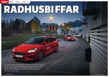 Test av Citroën Berlingo, Ford Focus Kombi och Kia Ceed SW.