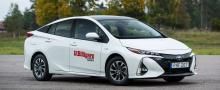Toyota Prius pHV Plug-in Solar pack