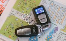 Audis Alpinpaket à 18000 kronor ingick kostnadsfritt som introduktionserbjudande till vår långtestbil och omfattar bland annat fjärrstyrd motorvärmare – med STOR nyckel.