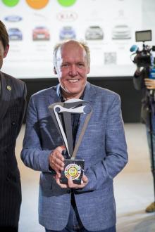 Ian Callum, designchef på Jaguar/Land Rover.