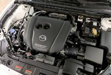 Bensinmotorn på 2,5 liter kan stänga av hälften av sina cylindrar.