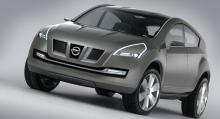 Första fysiska konceptet på Nissan Qashqai och den första modellen som togs fram av designstudion i London. Den reklamkampanj i intensivurban miljö som lanserade bilen 2007 sägs vara inspirerad av designstutions renovering.