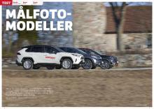 Toyota RAV4 möter Citroën C5 Aircross och Honda CR-V Hybrid. Vem vinner?