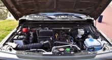 Motorn har blivit 17 hästkrafter starkare jämfört med föregångaren.