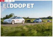 Tesla 3 möter BMW 3-serie och Volvo S60.