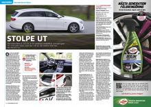 Provkörd: Mercedes E-klass kombi som laddhybrid.