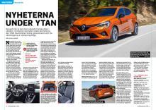 Provkörd: Renault Clio.
