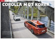 Toyota Corolla möter Kia Ceed och Hyundai i30.