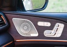 Miniatyrstolen är en klassisk Mercedesdetalj.
