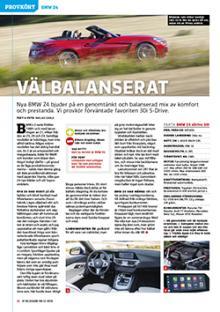 Provkörd: BMW Z4.