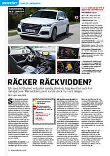 Provkörd: Audi Q5 som laddhybrid.