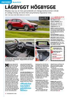 Provkörd: Mazda CX-30.