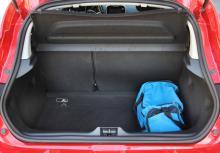 Bagagerummet är normalstort för småbilsklassen.