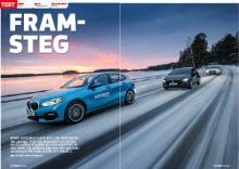 Mercedes A-klass mot BMW 1-serie och Mazda 3.