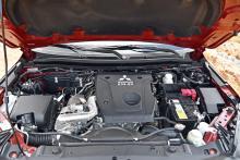 Ny motor med mindre cylindervolym, lägre effekt och vridmoment.