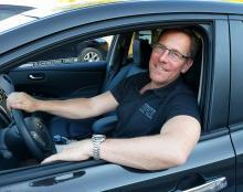 Gordon Strömfelt, elbilsexpert på Gröna bilister.