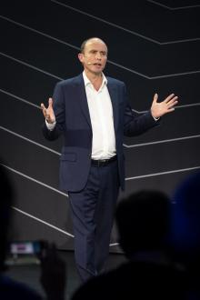 Matt Harrisson, försäljningsdirektör för Toyota Motor Europe.
