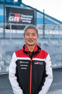 Naohiko Saito, chefsingenjör för GR Yaris.