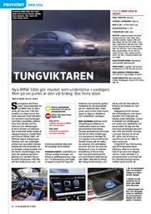 Provkörd: BMW 330e sedan