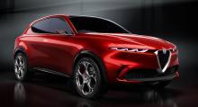 Ersättaren Alfa Romeo Tonale i konceptform.