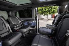 Svenskt pris på Mercedes EQV: Så mycket kostar elbussen