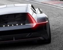 Volvos designdröm visar mystisk sportcoupé