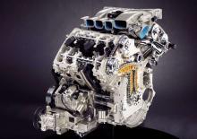 När man sätter två V4-motor omlott med 72 graders vinkel får man en W8 med en vinkel på bara 15 grader. Maximalt varvtal är 6400 r/min och maximal effekt nås vid 6000 r/min. Tändföljden är 1-5-2-6-4-8-3-7.