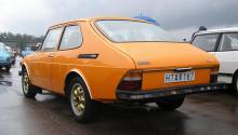 """Polestar 2 kanske ska heta """"Polesaab""""? Här är 1970-talets Saab 99 Combi Coupé. Foto: Liftarn/Creative Commons"""