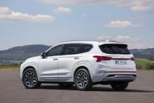 Fler detaljer om nya Hyundai Santa Fe som laddhybrid