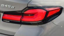 Fler detaljer om BMW 545e – så lång blir räckvidden i prestandahybriden