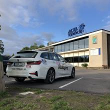 BMW 3-serie Touring sov över på Motell.
