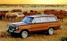 1984 års Jeep Grand Wagoneer.