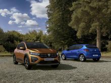 Nya Dacia Sandero, Stepway och Logan på ingång