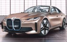 BMW i4 har visats upp i konceptform.