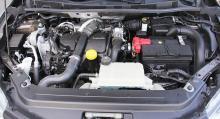 Tre olika motoralternativ finns, här 1,5-liters diesel på 110 hk.