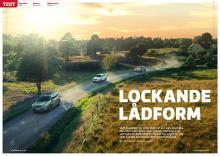 Mercedes GLB möter Subaru Forester och Volkswagen Tiguan i vårt stora biltest.