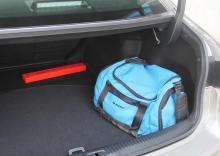 Om man packar i mindre väskor ryms en hel del bagage.