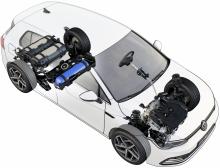 Premiär för Volkswagen Golf TGI – här är nya gasmodellen