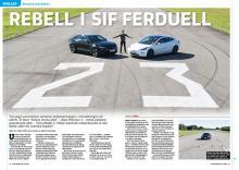Polestar 2 möter Tesla Model 3 i spännande duell.